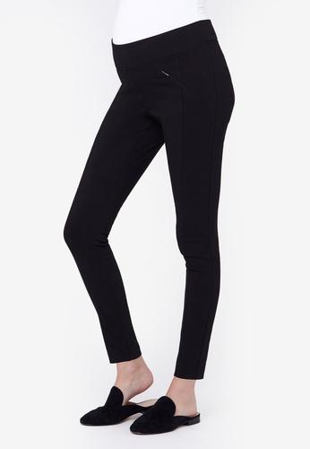 Ripe Maternity black Maternity Slim Zip Pants F9264AABDB7A8CGS_1