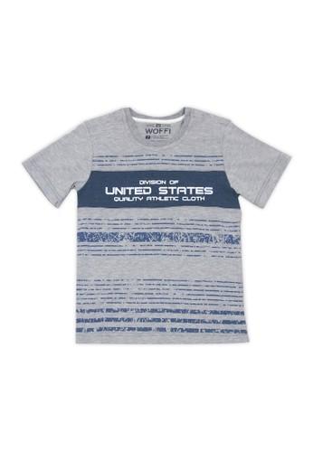 Woffi grey United States T-Shirt Woffi 5374DKA2453DD1GS_1