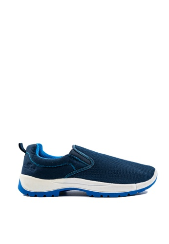 Pallas blue Pallas Jazz Slip On 407-0316 Navy Blue 0799BSH6D128E1GS_1
