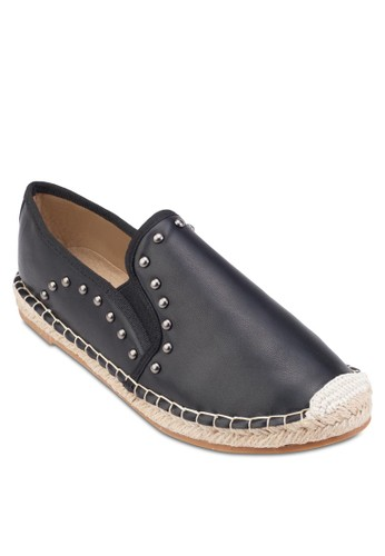鉚釘麻編懶人鞋, 女鞋esprit outlet 高雄, 鞋