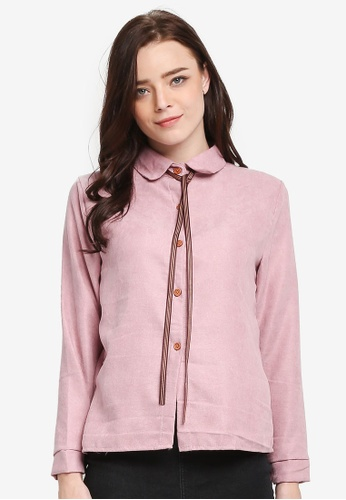 BYN pink Long Sleeve Shirt 3E9CDAAAB1568BGS_1