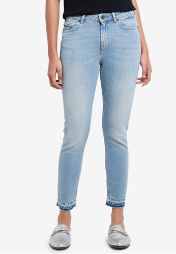Jack Wills blue Fernham Skinny Crop Jean 62A4EAAD6DD587GS_1