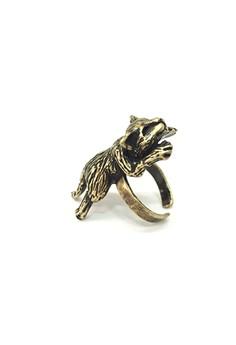 Sleeping Kitten Ring