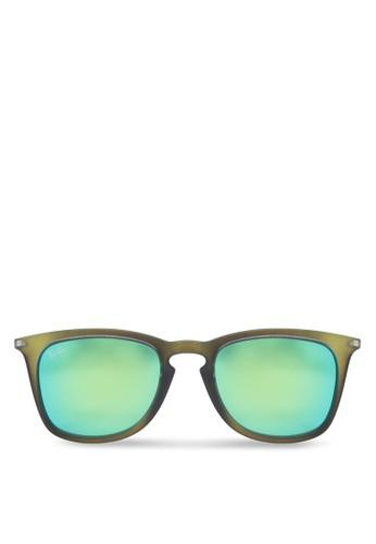 zalora 心得RB4221F 方框太陽眼鏡, 飾品配件, 飾品配件