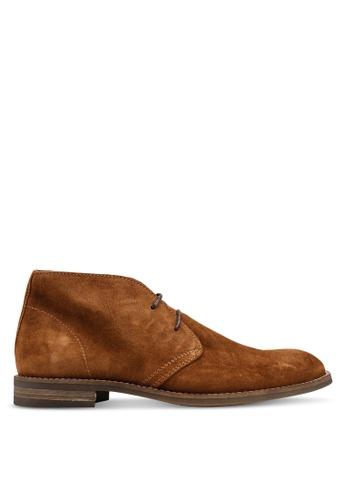 3b8567c38c0bc1 MANGO Man brown Suede Desert Boots 139D4SHA0A3FAAGS 1