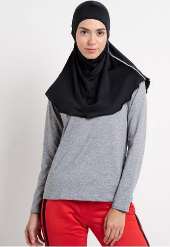 Corenation Active black Vira Hijab - Black A699EAC10B738AGS_1