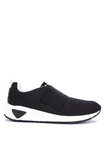 Diesel black SKB' S KB Elastic Sneakers 743D2SH7CA209FGS_1