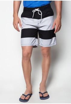 Beach Shorts Big Stripes