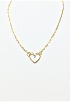 Body Chain with Heart Charm