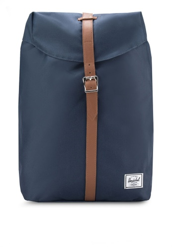 Herschel navy Post Mid Volume Backpack HE114AC94KOVMY_1
