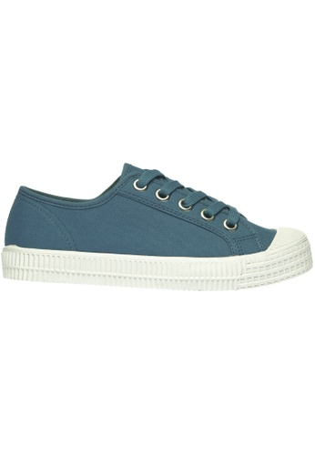 paperplanes blue Paperplanes-1350 Casual Low Top Flats Canvas Sneakers Shoes US Women Size PA355SH28PHRSG_1