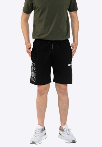 FOREST black Forest Elastic Waist Leisure Short Pants - 665063 811C5AACB8D57AGS_1