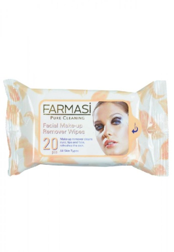 Farmasi Colour Cosmetics Facial Makeup Remover Wipes FA709BE71BZKMY_1