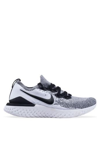194c3c46b3e0 Shop Nike Nike Epic React Flyknit 2 Shoes Online on ZALORA Philippines