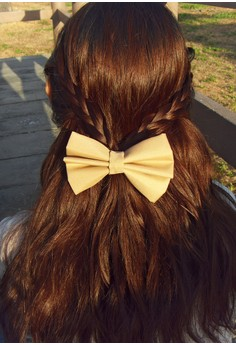 Tan Bow (Large)