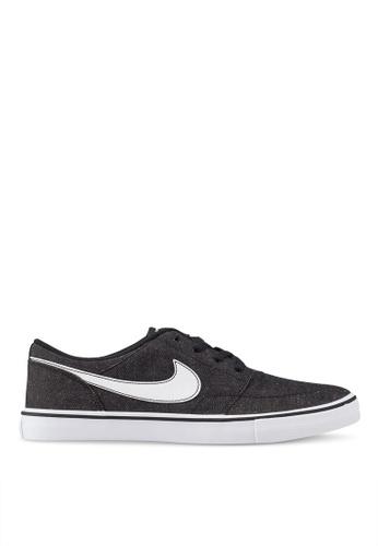 Nike black Men's Nike Sb Solarsoft Portmore Ii Canvas Premium Skateboarding Shoes EF04CSH6442A24GS_1