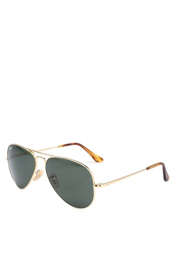 Ray-Ban gold Ray-Ban RB3689 Sunglasses 9B09CGL23803F5GS_1
