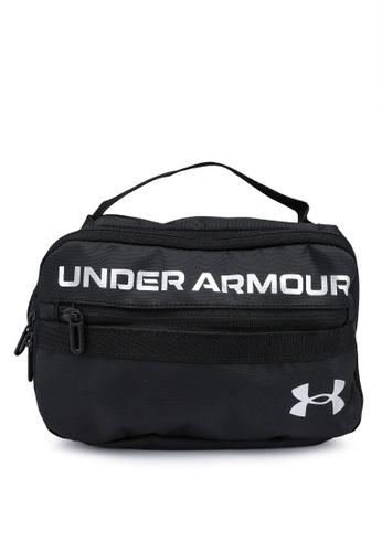 Under Armour black Contain Travel Kit Bag 72F0CAC7BBC29CGS_1