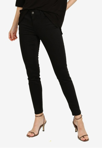 LC Waikiki black Normal Waist Skinny Jeans B4C5CAA265994FGS_1