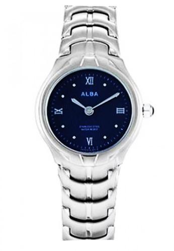Alba silver Jam Tangan Wanita Alba Original ATAN39 Strap Stainless Steel Silver Blue Dial 447B0AC55ABC48GS_1