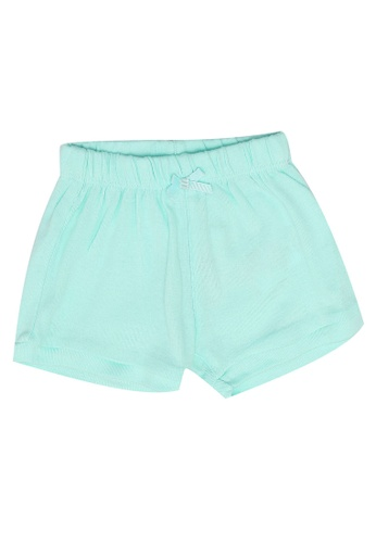 FOX Kids & Baby green Newborn Basic Shorts B6D9FKAF41C957GS_1