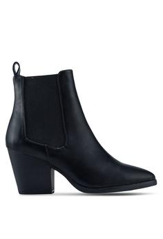 568e13d122a9 Rubi black Sophia Gusset Boots 8915ASHFCAFF18GS 1