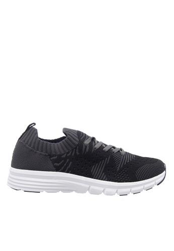 Hush Puppies black Hush Puppies Men's Fernando Lace Up Sneaker - Black 58FF1SH4B2B9AEGS_1