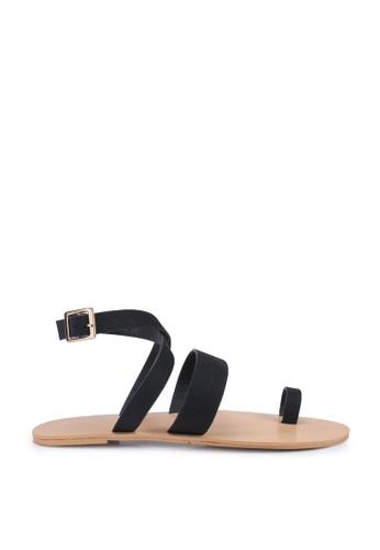 Billini black Cara Sandals 4FAD6SHDE6C3EAGS_1