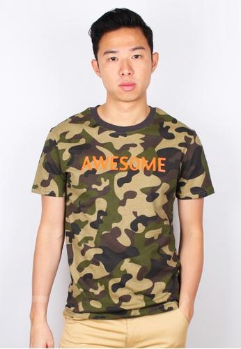 ff992a72 Buy Moley AWESOME Modern Camo T-Shirt Online on ZALORA Singapore