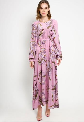 Covering Story pink Retta Dress CB523AA8A8291CGS_1
