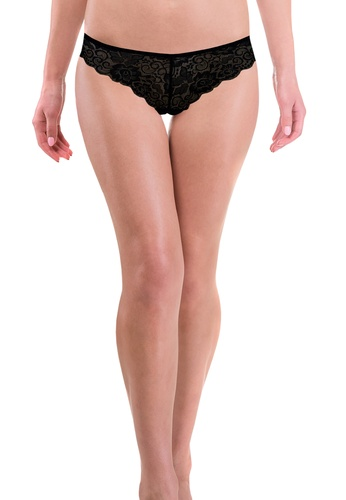 MONA LISA black Exquisite Trendsetter Low-waist Bikini Panty 767FAUS5C1E08CGS_1