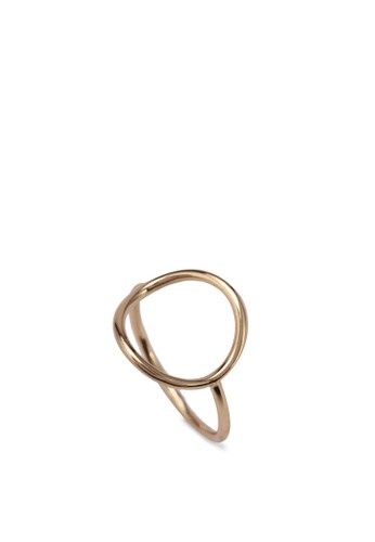 Orelia London gold Simple Open Circle Ring OR747AC0SC2QMY_1