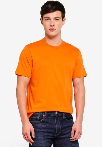 Topman 橘色 短袖經典T恤 58382AAD2E7F30GS_1