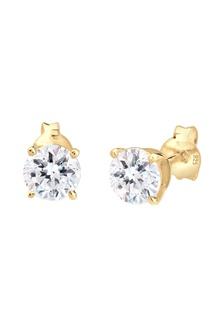 ce91866ca ... Elli Germany Gold Plated 925 Sterling Silver Swarovski® Crystal  Earrings