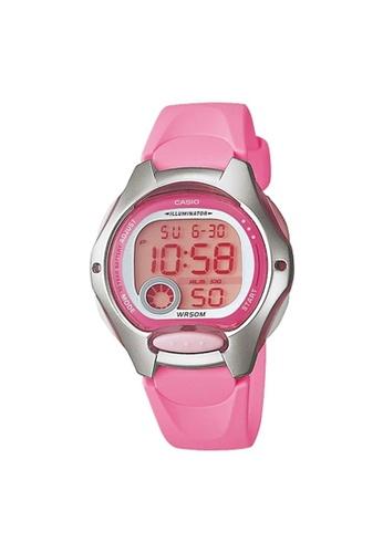 Casio pink Casio Kids Digital Watch (LW-200-4BV) 12B7EKC9C440A9GS_1