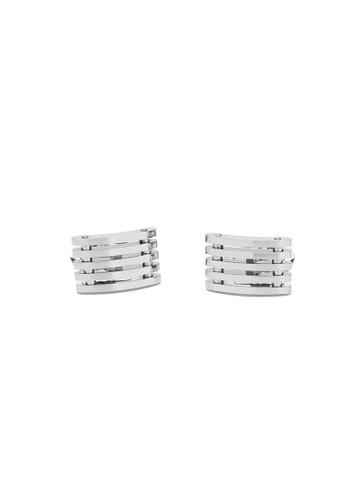 Maverick & Co. silver Maverick & Co. High-Line Cufflinks  - Silver 0B562AC2768D64GS_1