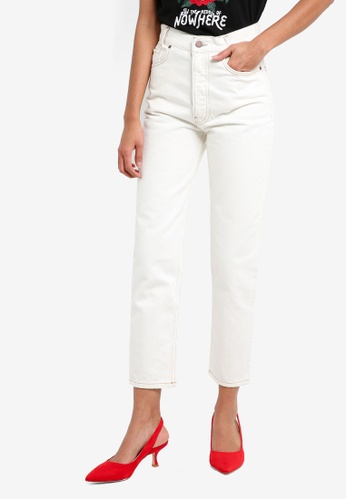 Mango white Judith Straight Jeans A224EAAF0030E3GS_1
