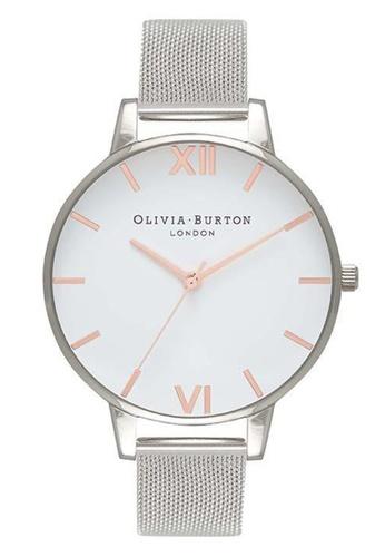 Olivia Burton silver WHITE DIAL Silver 38 mm Women's Watch 0163FAC4594800GS_1
