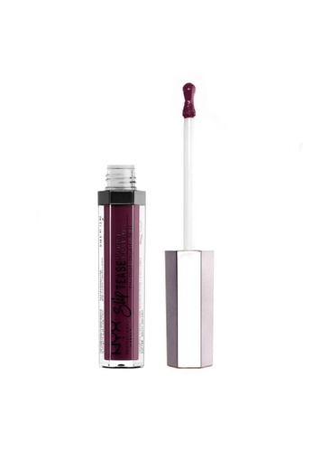 NYX Professional Makeup purple NYX Professional Makeup Slip Tease Lip Lacquer - STLL  16  LAST FRONTIER 6E2C4BE8831778GS_1