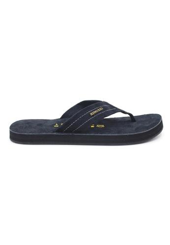SoleSimple black York - Black Leather Sandals & Flip Flops BBC25SHB4DD781GS_1
