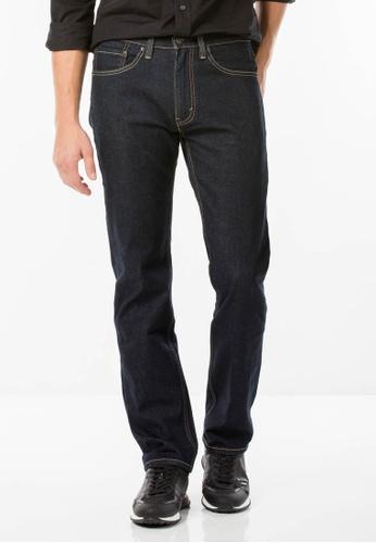 Levi's blue Levi's 505 Regular Fit Performance Cool Jeans LE815AA62GDHMY_1