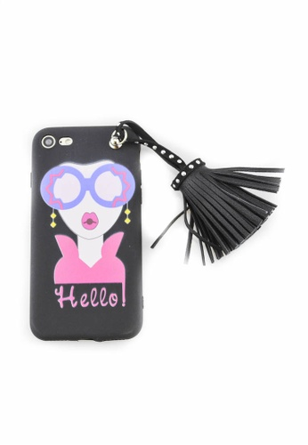 Fancy Cellphone Cases multi Hello Soft Case for iPhone 7 FA644AC0JY55PH_1