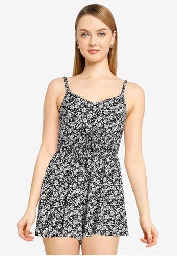 Hollister black Flirty Short Knit Romper 0185CAA7315C62GS_1