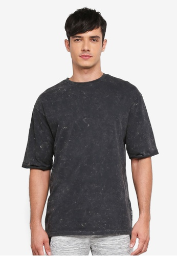Only & Sons black Lawrence Tee 551DEAA2566892GS_1
