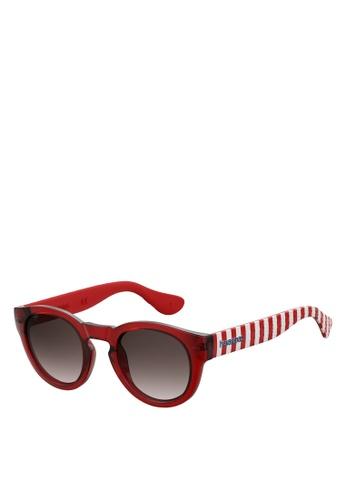 Havaianas red Trancoso/M Sunglasses D5772GL05F6AE0GS_1