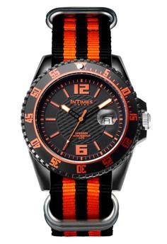 InTimes IT-067N Analog Fabric Watch
