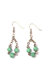 Moss Drop Earrings