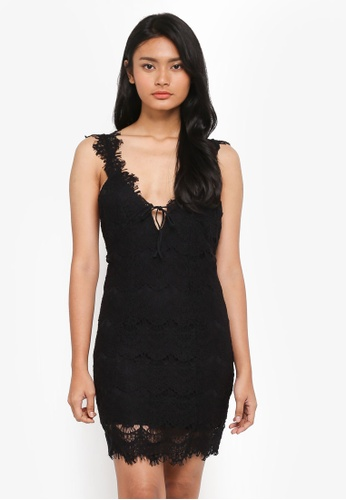 Free People black Night Moves Bodycon 642F5AAB7255F7GS_1