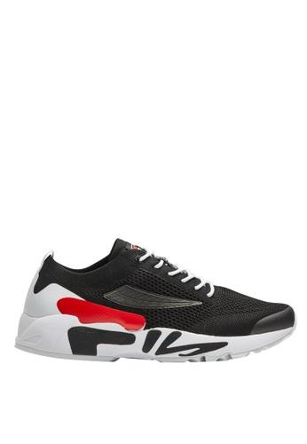 FILA black RJ-Retro Jogger Shoes CD445SH17C1998GS_1