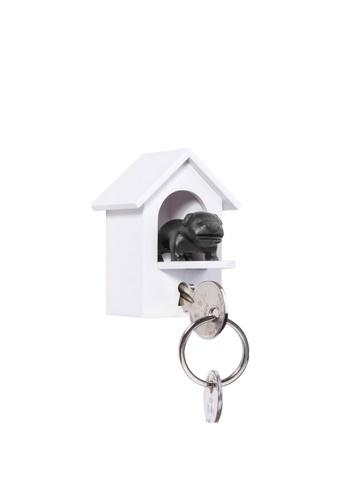 Qualy Qualy Watchdog Key Holder (White/Black) 9E199HL9C5E9C1GS_1